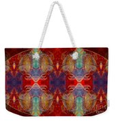 Repeating Realities Abstract Pattern Artwork By Omaste Witkowski Weekender Tote Bag