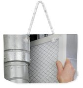 Replace Home Air Filter Weekender Tote Bag