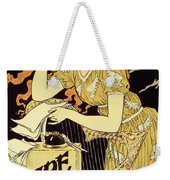 Reproduction Of A Poster Advertising 'marquet Ink' Weekender Tote Bag