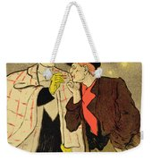 Reproduction Of A Poster Advertising Mothu And Doria In Impressionist Scenes Weekender Tote Bag