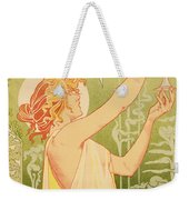 Reproduction Of A Poster Advertising 'robette Absinthe' Weekender Tote Bag