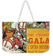Reproduction Of A Poster Advertising The Fetes De Paris Weekender Tote Bag