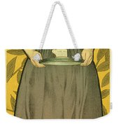 Reproduction Of A Poster Advertising Van Houten Cocoa Weekender Tote Bag