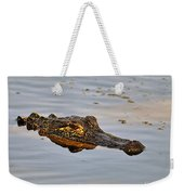 Reptile Reflection Weekender Tote Bag