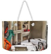 Rescue - Inside The Ambulance Weekender Tote Bag