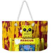 Rescue Robot Weekender Tote Bag