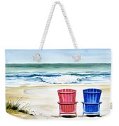 Reservations For Two Weekender Tote Bag