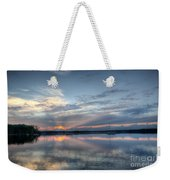 Reservoir Sunset Weekender Tote Bag