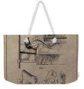Respirator Patent Illustration 1911 Weekender Tote Bag