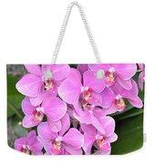Resplendent Orchid Weekender Tote Bag