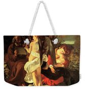 Rest On The Flight Into Egypt Weekender Tote Bag