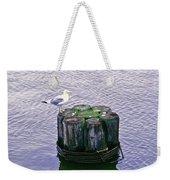 Rest Stop Weekender Tote Bag