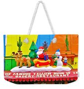 Restaurant In Gateway To The Amazon River In Iquitos-peru Weekender Tote Bag