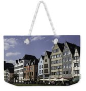 Restaurants And Brewpubs Along The Rhine Cologne Weekender Tote Bag
