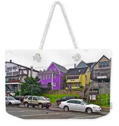 Restaurants In Lunenburg-ns Weekender Tote Bag