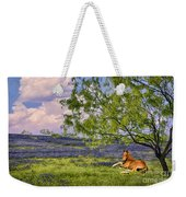 Resting Among The Bluebonnets Weekender Tote Bag