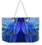 Psalm 91 Wings Weekender Tote Bag