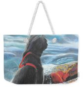 Resting By The Shore Weekender Tote Bag
