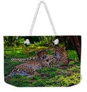 Resting Cheetahs Weekender Tote Bag