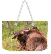 Resting Elk Weekender Tote Bag
