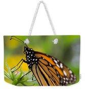 Resting Monarch Butterfly Weekender Tote Bag