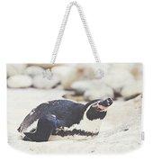 Resting Penguin Weekender Tote Bag