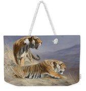 Resting Tigers Weekender Tote Bag