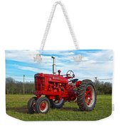 Restored Farmall Tractor Hdr Weekender Tote Bag