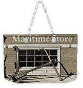 Restored Maritime Store Weekender Tote Bag