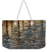 Retaining Wall Reflection Weekender Tote Bag