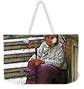 Retired In Greece Weekender Tote Bag