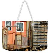 Retired Railroad Weekender Tote Bag