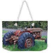 Retired Tractor Weekender Tote Bag