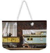 Retired Trains Weekender Tote Bag