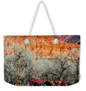Retired With A View Weekender Tote Bag