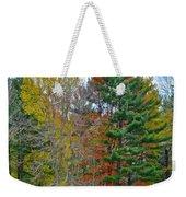 Retreating Pines Weekender Tote Bag