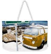 Retro Beach Van Weekender Tote Bag