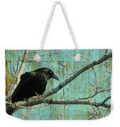 Retro Blue - Crow Weekender Tote Bag