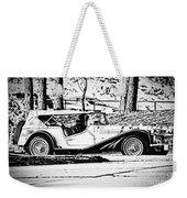 Retro Cabriolet Weekender Tote Bag