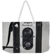Retro Camera Weekender Tote Bag