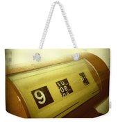 Retro Clock Weekender Tote Bag