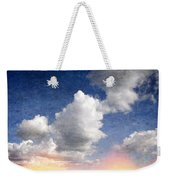 Retro Clouds 2 Weekender Tote Bag