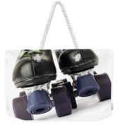 Retro Roller Skates Weekender Tote Bag by Jose Elias - Sofia Pereira