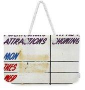 Retro Roxy Cinema Sign Weekender Tote Bag