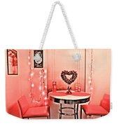 Retro Valentine Weekender Tote Bag