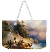 Return From The Mountain Pasture Weekender Tote Bag