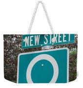 Sign Post Weekender Tote Bag