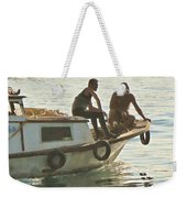 Returning At The End Of The Day Weekender Tote Bag