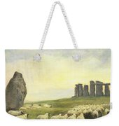 Returning Home     Stonehenge Weekender Tote Bag