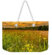 Retzer Wildflower Sunset Weekender Tote Bag